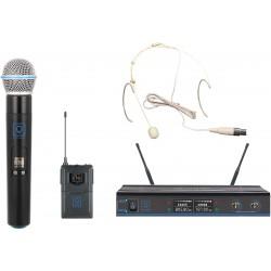 OQAN QWM-3 Combo (Handheld +Earset) 470-494Mhz FR