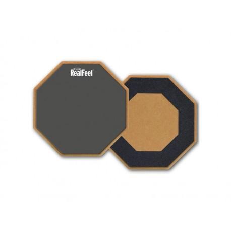 """Evans RF12G RealFeel - Pad per Allenamento da 12"""" con superficie in gomma"""