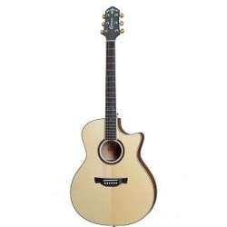 Crafter Guitars GAE 650TM/N chitarra acustica elettrificata solid top