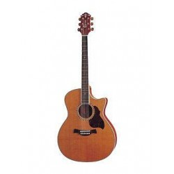 Crafter Guitars GAE-7 N acustica con body Grand Auditorium a spalla mancante