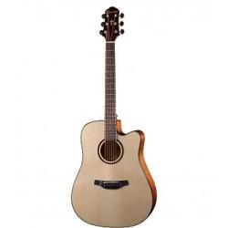 Crafter Guitars HGE-500/N chitarra acustica elettrificata solid top