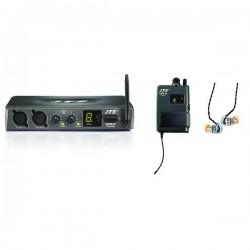 JTS Sistema UHF PLL wireless In Ear Monitor SIEM-2T/SIEM-2R+IE1