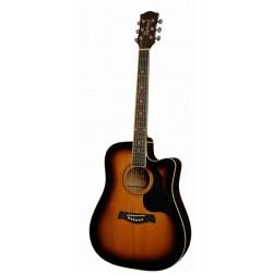 Richwood RD-12-CESB chitarra acustica elettrificata cutaway