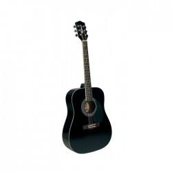 Richwood RD-12-BK chitarra acustica nera