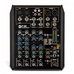 RCF F 6X mixer analogico 6 CANALI CON EFFETTI DIGITALI
