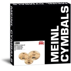 MEINL MCS SET DI PIATTI - 14″ Medium Hihat 16″ Medium Crash 20″ Medium Ride