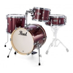 PEARL MDT764P MIDTOWN BLACK CHERRY GLITTER SET BATTERIA