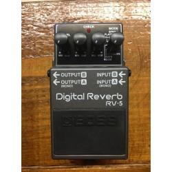 BOSS RV-5 DIGITAL REVERB DELAY
