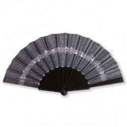 VWF0060 Fan - Line Of Notes, Black