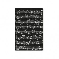 VWB0009 Choir Folder File - Black, Sheet Music