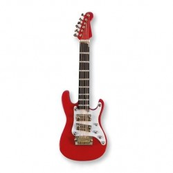 VWT0698 Electric Guitar Magnet - Red